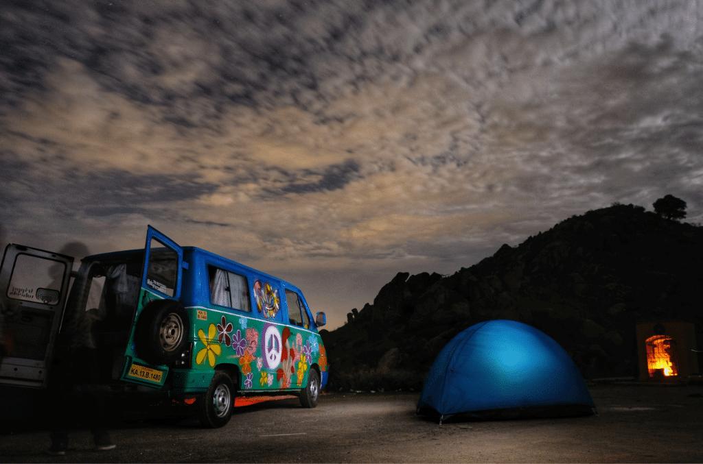 travel India in a Caravan